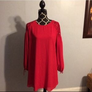 ASOS Red Formal Party Dress Size 12